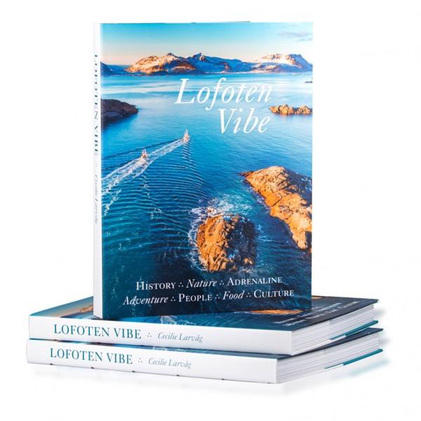 Cecilie Larvåg Lofoten Vibe, book in English